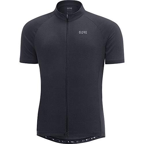 GORE Wear C3 Men Short Sleeve Jersey, L, Black