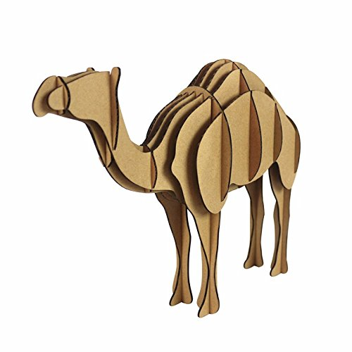 Maker Jigsaw - Paper Maker DIY Camel 3D Jigsaw Puzzle Model Desert Animal Decoration
