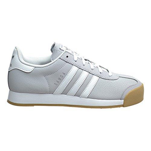Adidas Samoa Women's Shoes Light Solid Grey/White/Silver Metallic