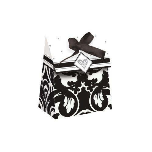 12-Count Die Cut Party Favor Bags, Ever After -