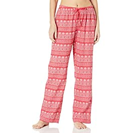 Amazon Brand – Mae Women's Flannel Pant with Drawstring