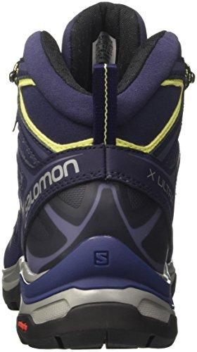 Salomon Damen X Ultra 3 Mid GTX W Wanderschuh Krone Blau
