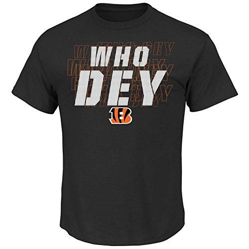 Cincinnati Bengals Men's Black Battle Intensity T-shirt Large