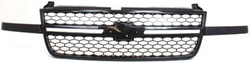 Crash Parts Plus Textured Black Grille Assembly for Chevrolet Silverado GM1200586