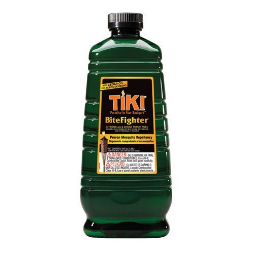 Hollowick TK08435 Bitefighter Citronella/Cedar Torch Fuel, 64 oz. Container, 4-3/8' x 10-3/8'H (6 Each per Case)