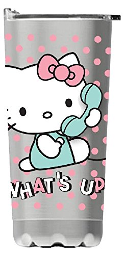 (Vandor 18009 Hello Kitty 20 Oz. Stainless Steel Vacuum)