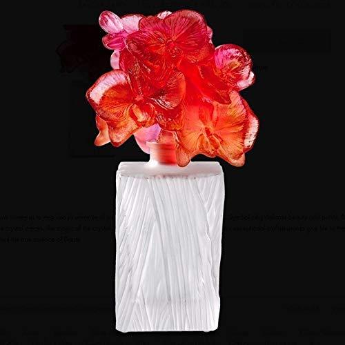 - Daum Crystal Flowers of Orchid Prestige Perfume Bottle 05551