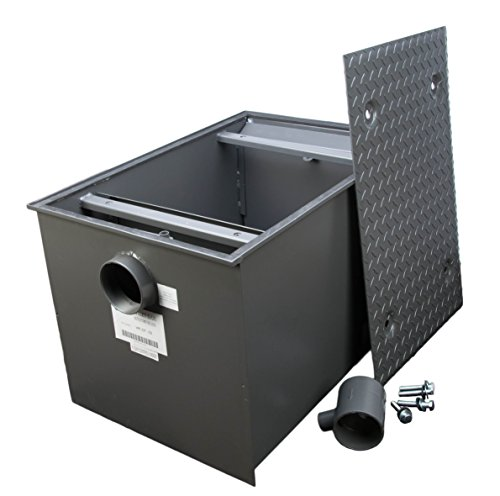 WentWorth 100 Pound Grease Trap Intercepto r 50 GPM Gallons Per Minute ()