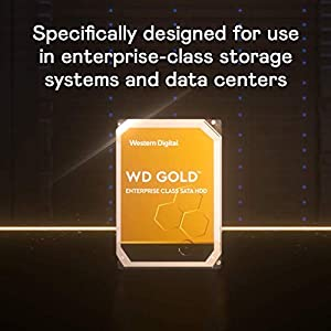 "WD Gold 14TB Enterprise Class Internal Hard Drive - 7200 RPM Class, SATA 6 Gb/s, 512 MB Cache, 3.5"" - WD141KRYZ"