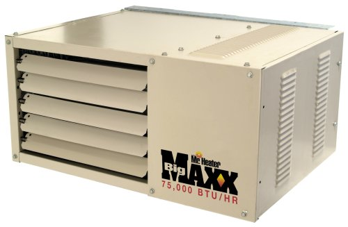 Mr. Heater Big Maxx 75,000 BTU Natural Gas Garage Unit Heater (Gas Commercial Unit Heater)