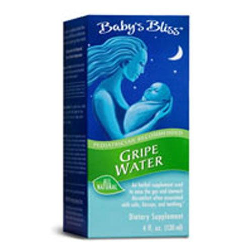 Mommys Bliss Bliss Gripe Water 4 Oz, 5-pack by Mommy's Bliss