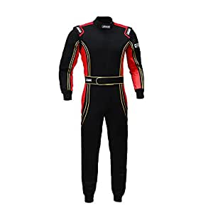 jxhracing RB-CR014 One Piece Auto Go Karts Racing Suit Red Large