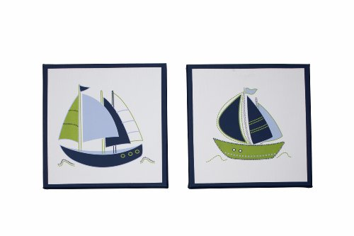 Nautica Piece Printed Canvas Wall