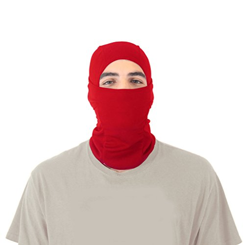 Ninja Noggin Balaclava Ski Mask (Red Ninja Ninjago Costume)