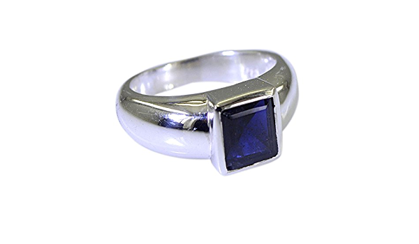 Stones of softness iolite and fine pearls for this contemporary 925 silver adjustable ring ....