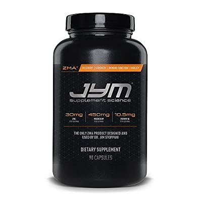 JYM Supplement Science Zma Jym Dietary Supplement Capsule, 90 Count
