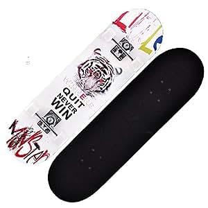 JOL - Tabla de Skate con Cuatro Ruedas para Adultos y niños ...