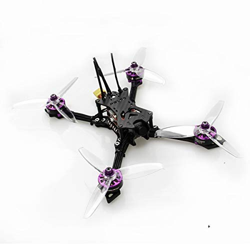 HGLRC Batman 220 220mm FPV Racing Drone with Airbus F4 OSD Flight Control Carbon Fiber Aircraft Frame GTX585 VTX Video Transmitter ELF 600TVL Sony Camera (Frsky XM+)