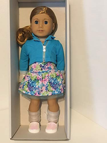American Girl - 2017 Truly Me Doll: Light Skin, Curly Red Hair, Blue Eyes DN33 (Little Girl With Brown Hair And Blue Eyes)