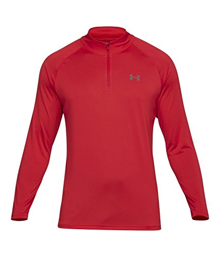 Under Armour Men's Tech ¼ Zip, Pierce (629)/Graphite, X-Large
