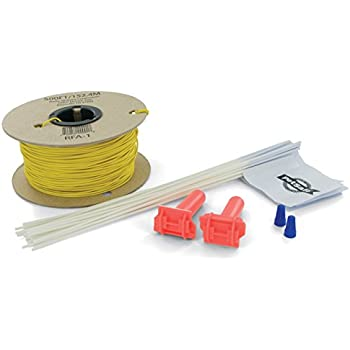 41HlkJlIc0L._SL500_AC_SS350_ amazon com petsafe fence wire and flag kit, includes 50 boundary petsafe wiring diagram at gsmportal.co