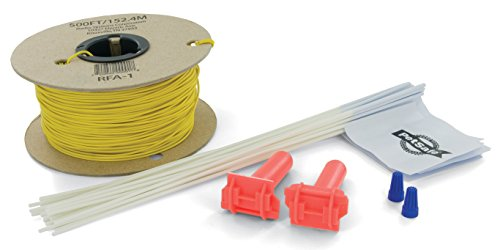 PetSafe Fence Wire and Flag Kit, Includes 50 boundary Flags and 500 ft of Wire, Expand your In-Ground Fence