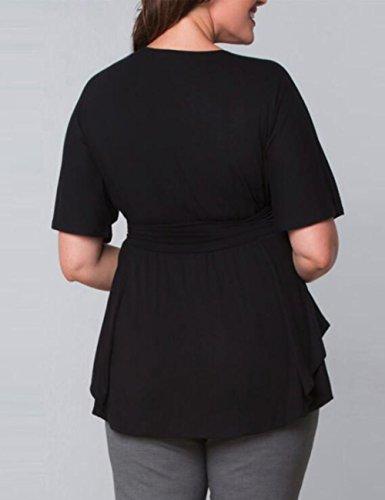 Chemisier Noir amatorial Femme amatorial Chemisier Femme w7xqtn6Cp