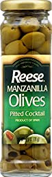 Reese Olive, Pitted Manz, 2.50-Ounce (Pack of 12)