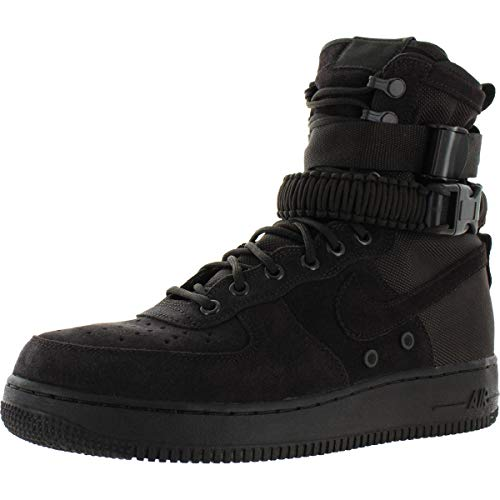 Nike Mens SF AF1 MID Hight Top Lace Up Basketball Shoes, Velvet Brown, Size 9.5