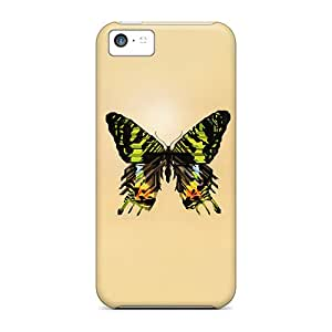 Iphone 5c YoN8030iCmb Provide Private Custom Trendy Butterfly Pattern Anti-Scratch Hard Phone Covers -NataliaKrause
