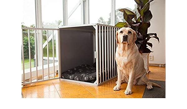 Perros Box m3tk l106 cm aluminio Top calidad perro jaula ...