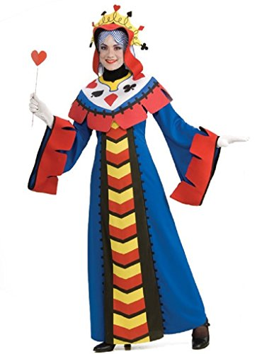 Adult Queen or Joker Playing Card Costume - Alice in Wonderland - Queen (Playing Card Joker Costume)