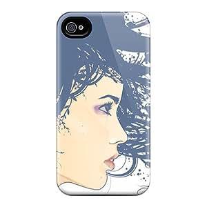 Perfect Fit ISjvDCM8130SHTKq Vector Girl Case For Iphone - 4/4s