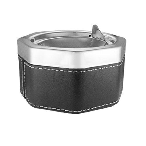 uxcell® diseño Octagonal del encendedor del cenicero de Metal