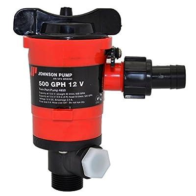Johnson Pumps 48503 500 GPH Aerator/Livewell Pump