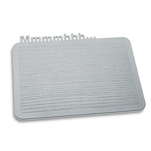 Koziol 3256632 Happy Mmmmhhh Snack Board, Solid Cool Gray by Koziol