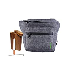 Smell Proof Fanny Pack With Built In Beer Cooling Material. So when your Hitting the roads to the unknown you have the all in one pouch that can handle all your needs. Cheers! Stay safe and Drink and Smoke responsibly