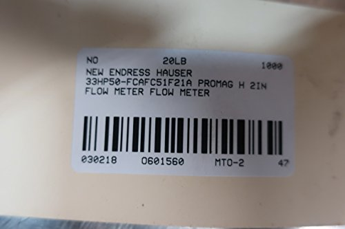 2 Flowmeter Endress Hauser Promag F 30FT50-AD1AA11A21B