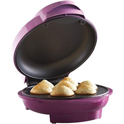 1 - Mini Cupcake Maker, 750W, Preheat & power indicator light , Convenient cord wrap