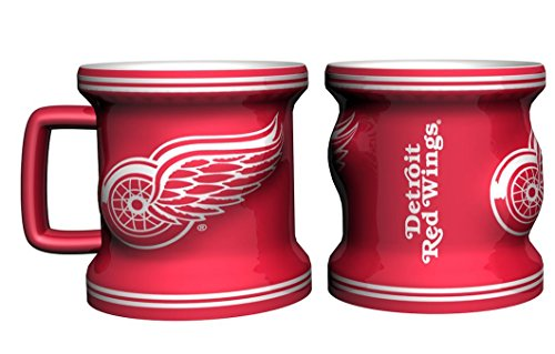 Detroit Red Wings Shot Glass - Sculpted Mini Mug