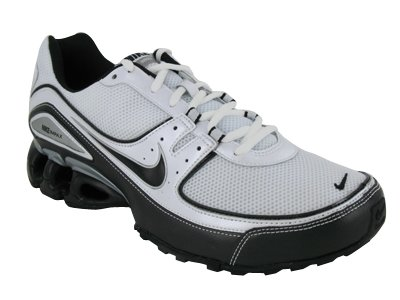 fad66237a962 Nike Men s IMPAX TORRENT RUNNING SHOES 8.5 (WHITE BLACK METALLIC SILVER)