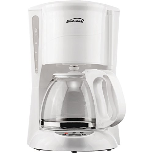 - Brentwood  TS-218W  12  Cup  Digital  Coffee  Maker,  White