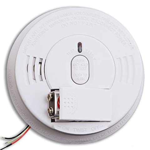 Kidde i12060 Hardwire with Front Load Battery Backup Smoke Alarm (4 Pack) - Photoelectric Ionization Smoke Detectors
