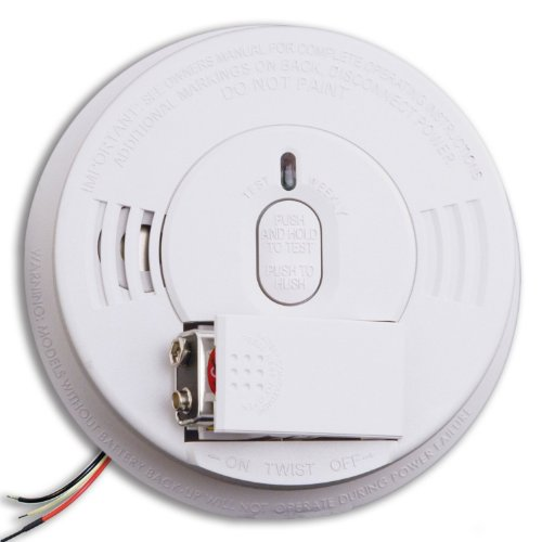 Kidde i12060 Hardwire with Front Load Battery Backup Smoke Alarm (4 Pack) 4 Wire Photoelectric Detector