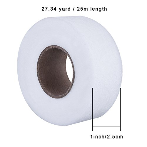 Outus Fabric Fusing Tape Adhesive Hem Tape Iron-on Tape Each 27 Yards, 2 Pack (1 Inch)
