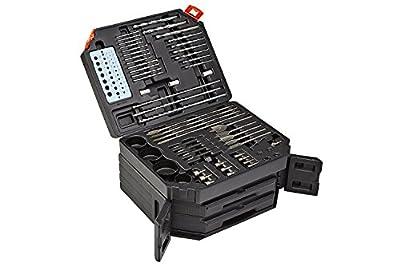 Portamate PM-1350 Drill Bit Set (300 Pack), Black