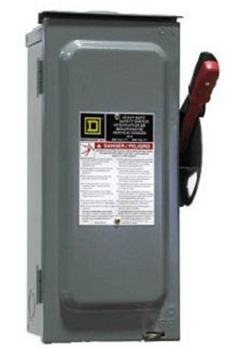 SCHNEIDER ELECTRIC Switch Not Fusible Hd 600-Volt 30-Amp - Import It All