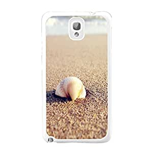 Unique Fashion Design Customized Graphic Print Hard Plastic Samsung Galaxy Note 3 N9005 Back Protective Case Cover Skin (seashell beach BY417)