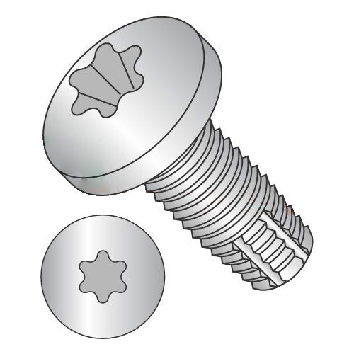 1/4-20 x 2'' Type F Thread Cutting Screws/Six-Lobe (Torx) / Pan Head / 18-8 Stainless Steel (Carton: 100 pcs)