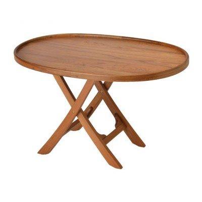 AMRG-50600 * Garelick Folding Deck Table - Solid Teak (Garelick Pontoon Boat)